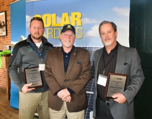 Michigan Solar Solutions and Oak Electric Receive 2018 Joint Business Leadership Award