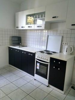 Monteurzimmer Küche Beispiel