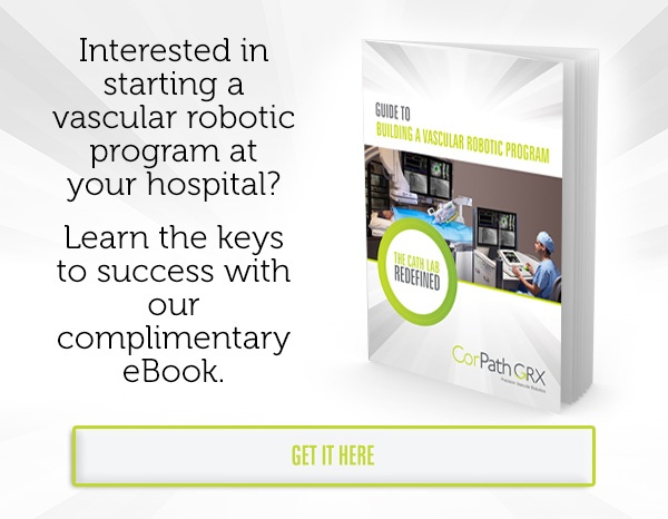 Interested in starting a vascular robotic program at your hospital? Learn the keys to success with our complimentary eBook.