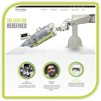 We upgraded our website! Come see what's new at corindus.com