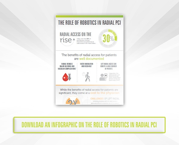 Download an Infographic on the Role of Robotics in Radial PCI