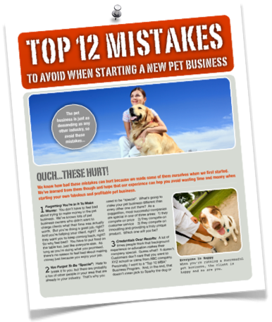 12 pet business mistakes