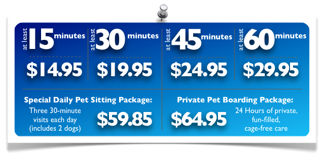 Dog Walking, Pet Sitting Prices in Elmhurst, Downers Grove IL