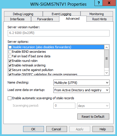 Windows 2012 Server: Preparing to sign a DNS zone with DNSSEC