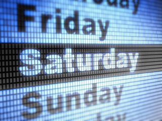 exempt employee pay on weekends