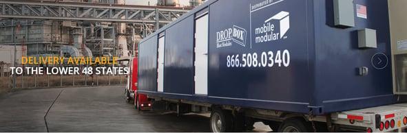 DropBox Inc., Mobile Modular, Blast Resistant Modules, BRM