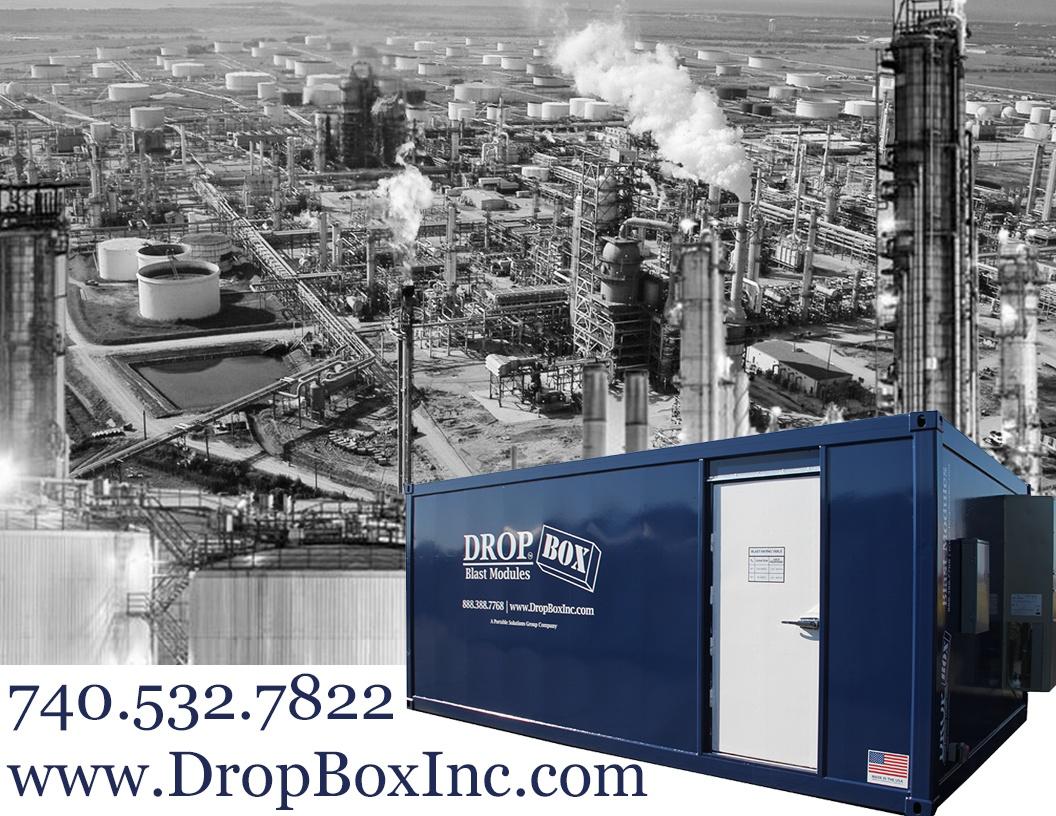 DropBox Inc, BRM, custom blast resistant modules, blast module, blast modules, blast resistant tool crib, blast resistant modules, blast resistant module