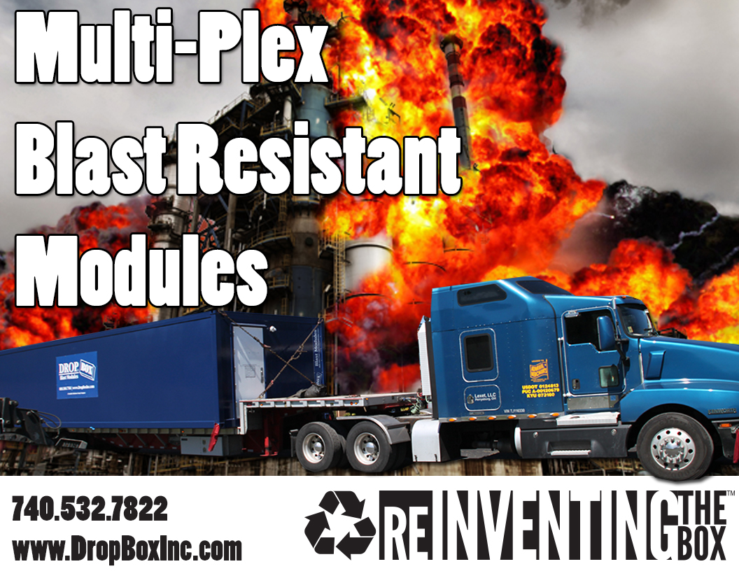 blast resistant module, Multi-Plex BRM, Multi-Plex Blast Resistant Module, DropBox Inc, BRM, Custom BRM, custom blast resistant modules