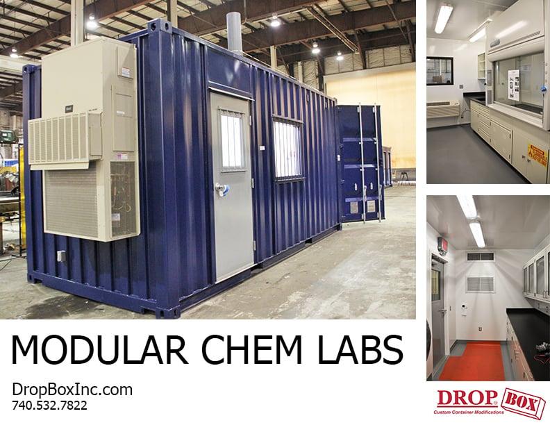 DropBox Inc, portable laboratory, portable chemical lab, containerized lab, portable lab, modular lab, modular laboratory, modular chemical lab, modular chemical labs, modular chemical laboratory