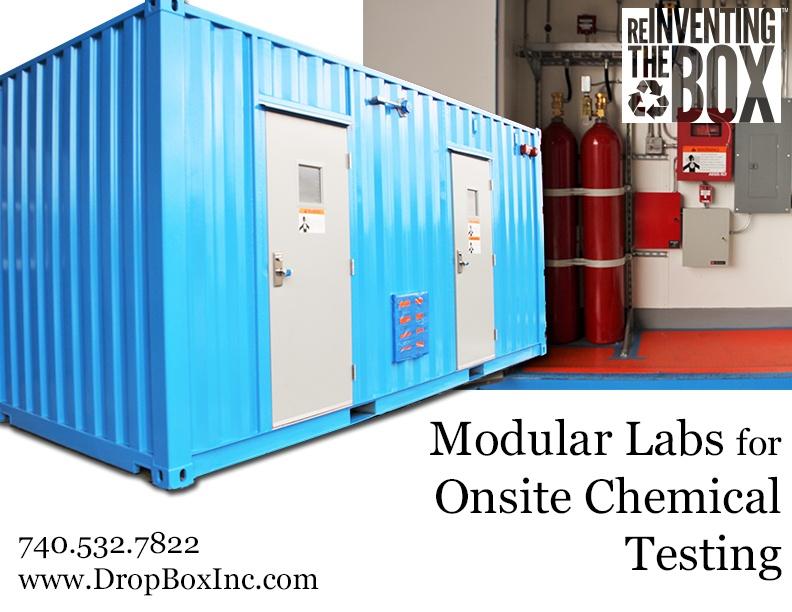 DropBox Inc, portable chem storage, portable laboratory, portable chemical lab, containerized lab, portable lab, modular lab, modular laboratory