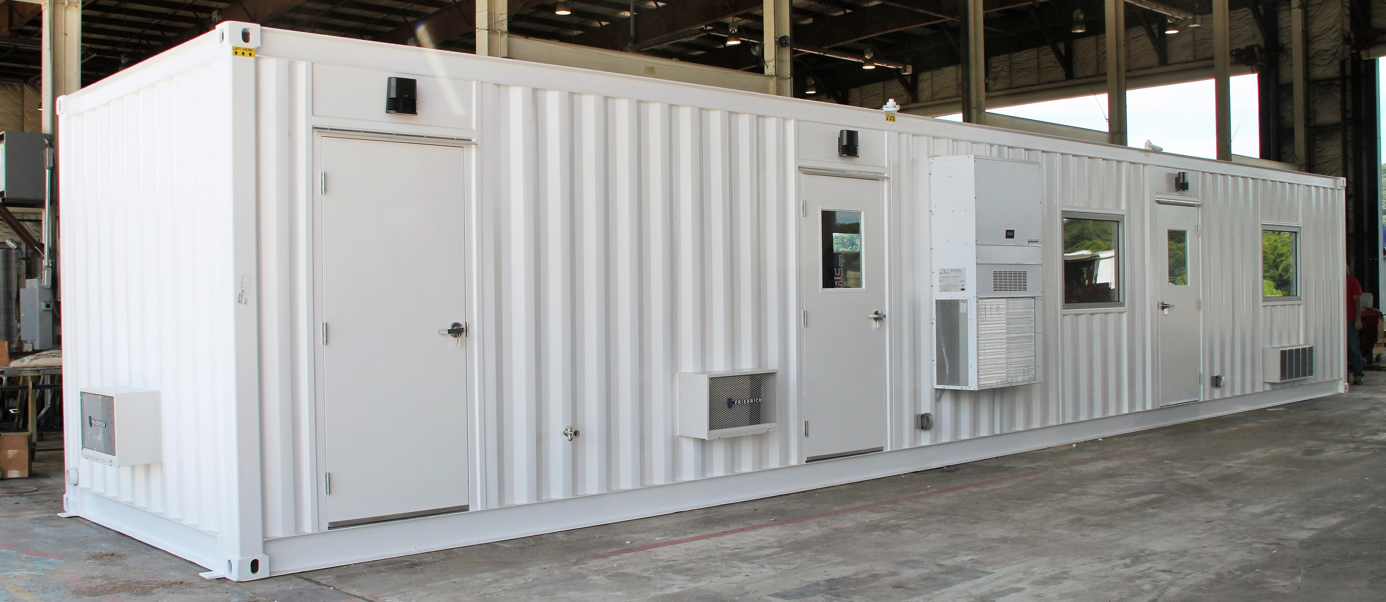 DropBox Inc, ISO Shipping container, shipping container modifications, Shipping container, ISO shipping container modification, modular lab, modular laboratory, mobile laboratory, modular chemical lab, hemp