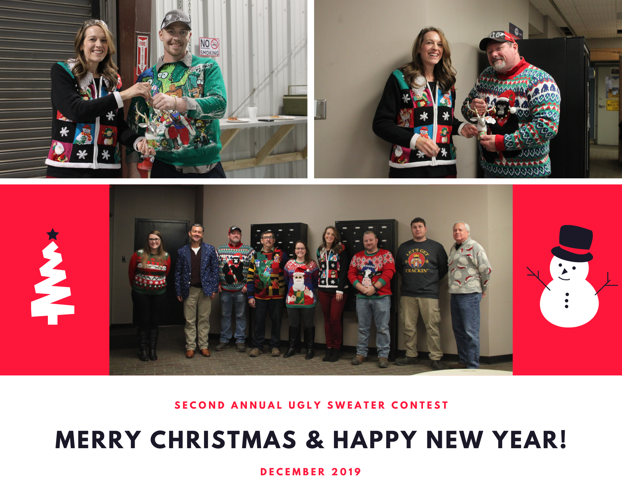 DropBox Inc, MSSI, Portable Solutions Group, ugly sweater contest, Merry Christmas, Happy New Year, Portable Solutions Manufacturing