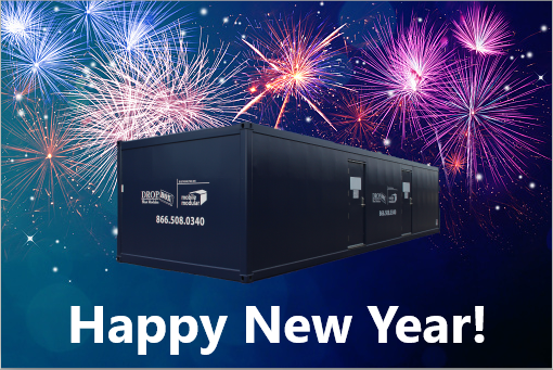 DropBox Inc, shipping container modifications, ReinventingTheBox, Happy New Year