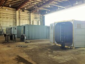 shipping container modification, DropBox Inc, ISO Shipping container, shipping container modifications, milvan modification, Shipping container, ISO shipping container modification, storage container modification, storage container modifications