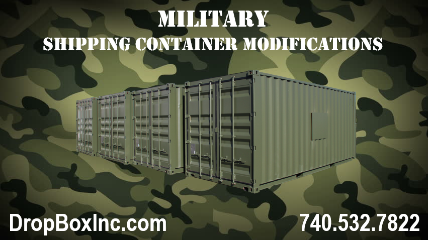 DropBox Inc, military shipping container, military shipping container modification, shipping container modifications for the military, shipping container modification for the military, ReinventingTheBox