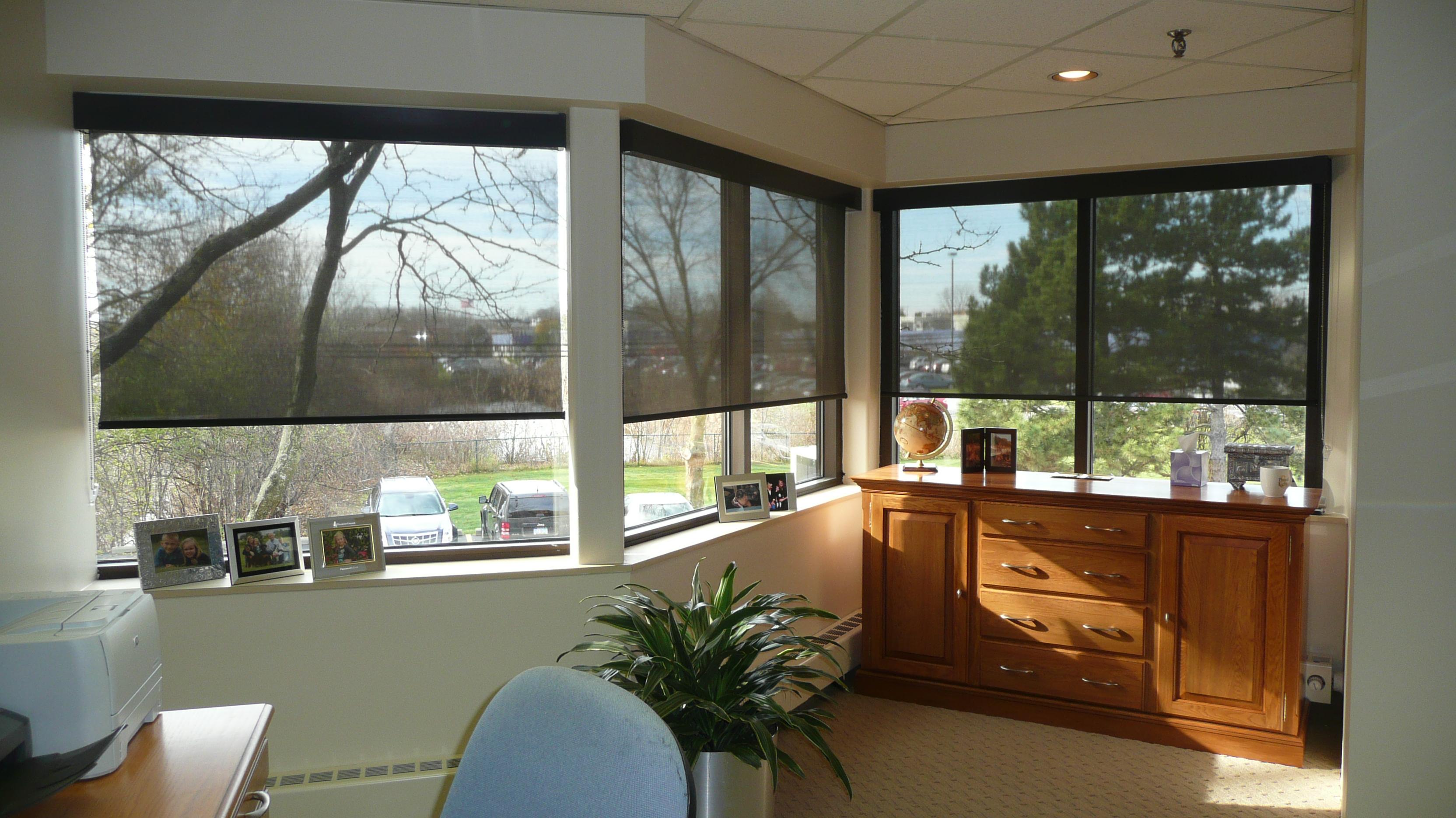 Rolling Solar Shades Window Shades Bay Screens Amp Shades