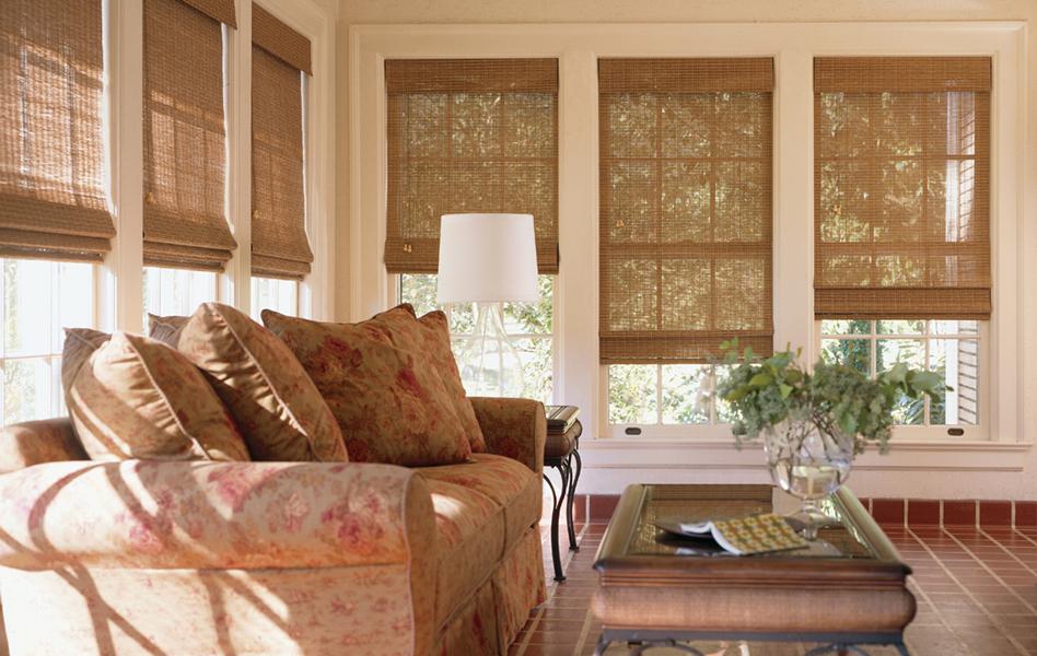 Conrad Woven Wood Shades