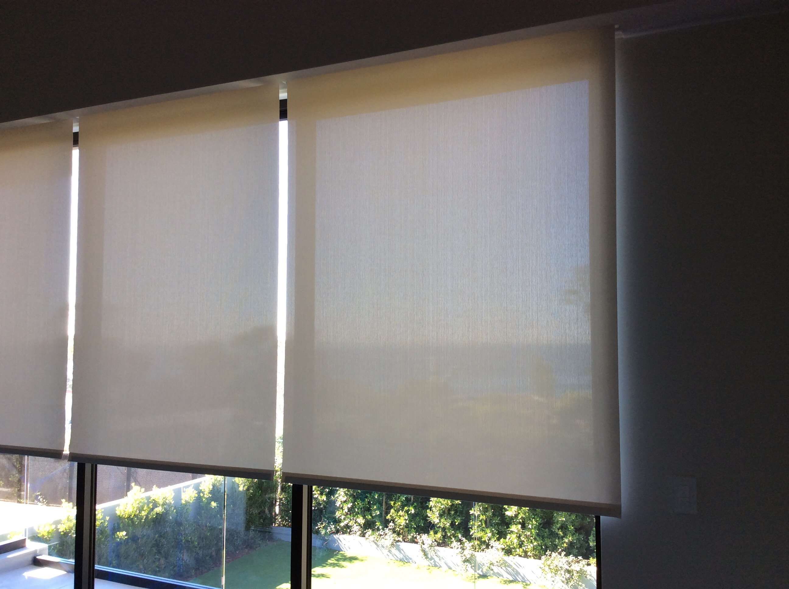 Lutron Motorized Shades Installation