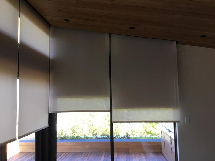 Lutron Motorized Shades Bay Screens And Shades Santa
