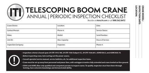 telescoping boom crane