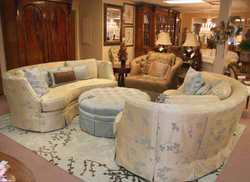 Consigned Furniture Room Setting