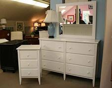 White cottage bedroom set for Boston interiors bedroom furniture