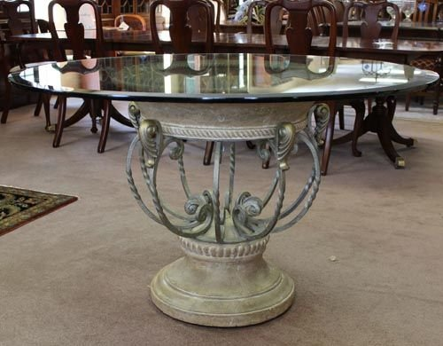 Traditional Glass Dining Tables glass top dining tables