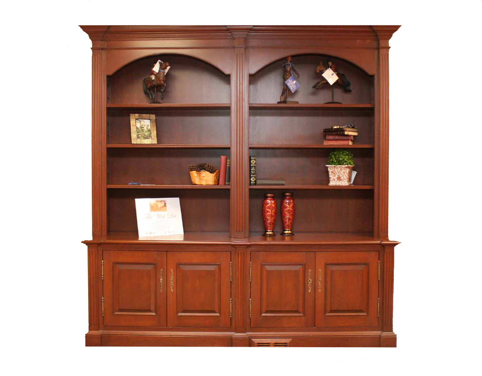 Brilliant  Creek Wall Bookcase  Traditional  Bookcases  By Seldens Furniture