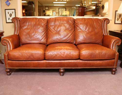 Merveilleux Whittemore Sherrill Leather Sofa Beautiful Home Design