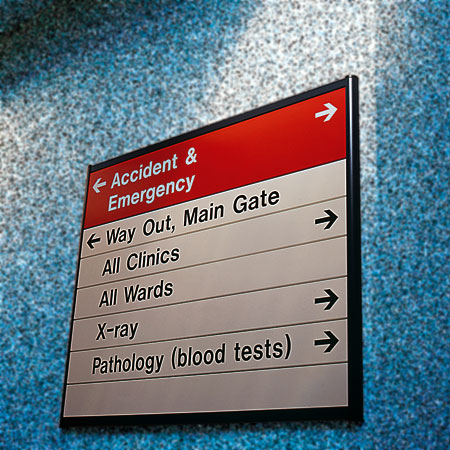 wayfinding systems, directory signs
