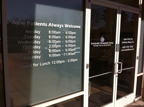 Types Of Vinyl Window Decals Bay Area - Window stickers for business