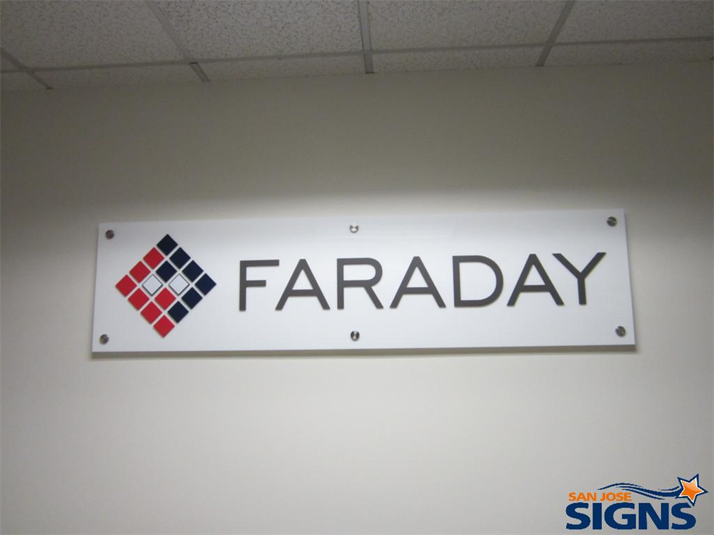 Office & Lobby Signs   Sign Maker Santa Clara   Bay Area Ca