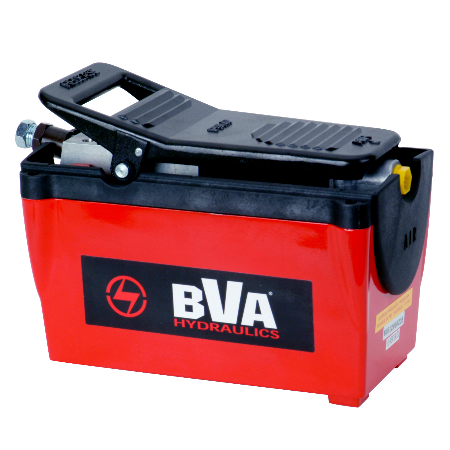 BVA air over hydraulic pump