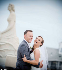 Ashworth by the Sea, Hampton NH beach wedding photography