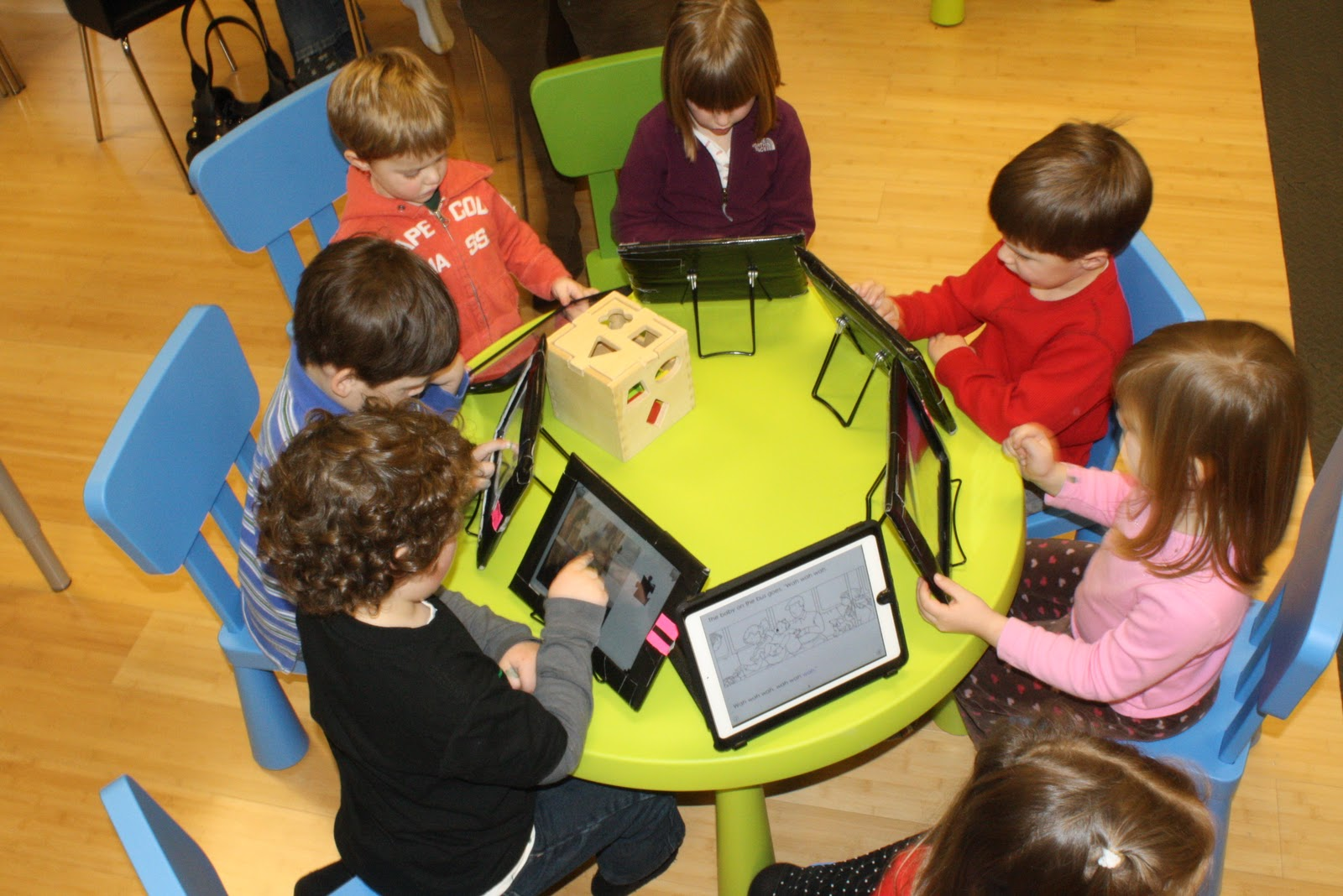 trend of technology in the classroom The flipped classroom - the idea of inverting traditional teaching methods by delivering instructions online outside of the classroom and using the time in school as the place to do homework.