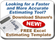 free excel estimating template