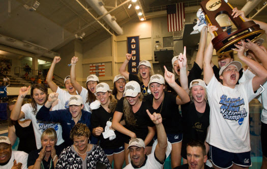cal women swimming champs
