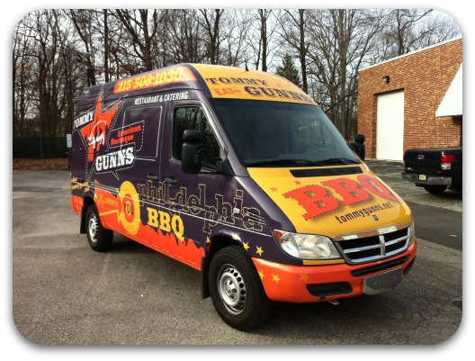 catering van wrap