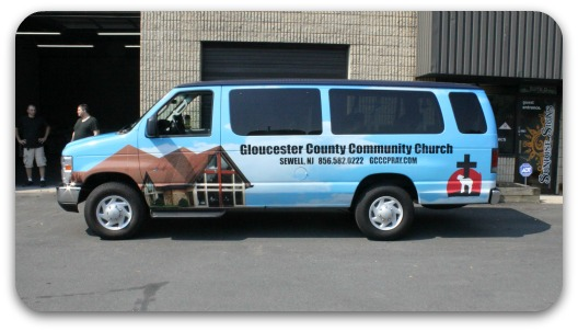 church van wrap 3