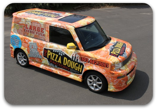 pizza delivery wrap