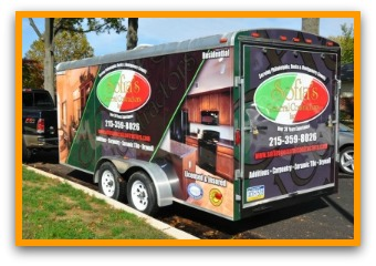 trailer wraps graphics idea gallery