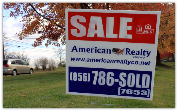 For Sale Yard Sign. yard sign