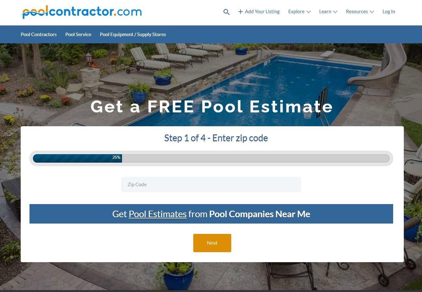 Pool Contractors