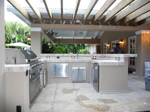Outdoor Kitchen Design Austin Texas