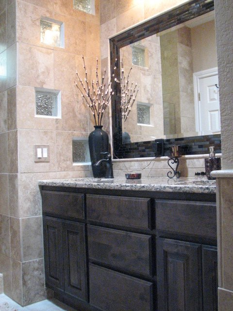 Custom Vanities and Mirror Installations. Austin  39 s Fine Cabinetry Built In House