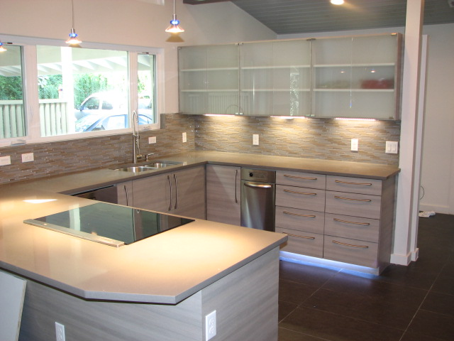 Raised Panel Cabinetry; Modern Laminated European Cabinetrs ...