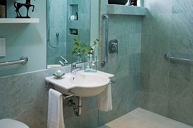 ADA compliant bathroom vanities in Austin, Texas