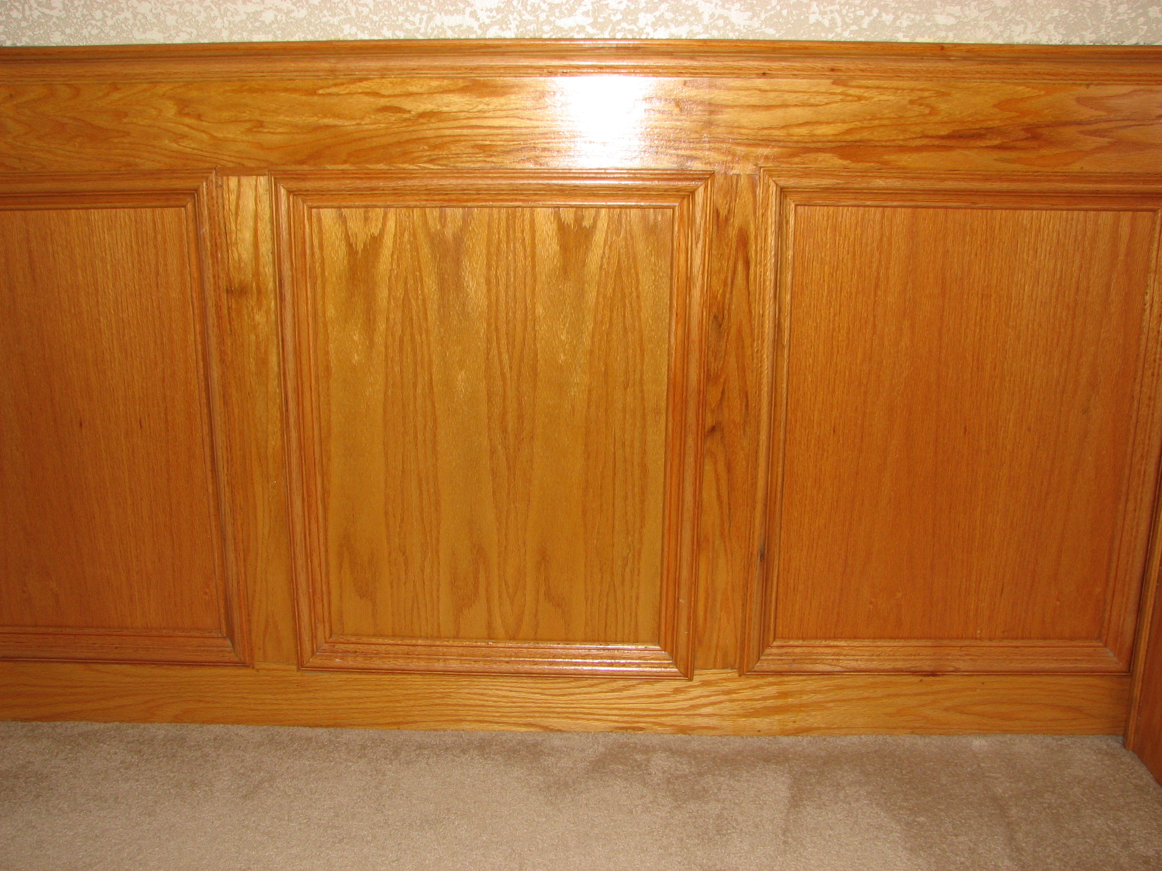 Wood Paneling Chair Rail Part - 17: Custom Wooden Ceilings · Desks And Workstations · Chair Rails And Raised  Panel Walls ...