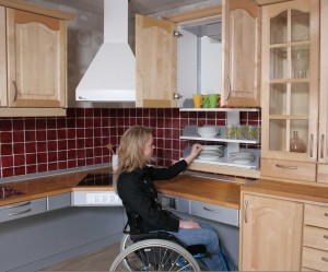 wheelchair kitchen design handicap home modifications in 1001