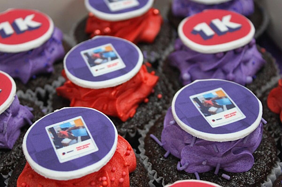 Click the photo of the Kick-off kit cupcakes to get your kit. The cupcakes celebrate the Agile inception workshop tool's 1000th download.